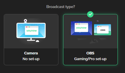OBS Setup Guide – YouNow Support